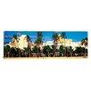 iCanvasArt Panoramic Ocean Drive South Beach Miami Beach, Florida Photographic Print on Canvas