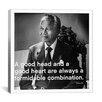iCanvasArt Nelson Mandela Quote Canvas Wall Art