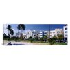 iCanvas Panoramic Ocean Drive, South Beach, Miami Beach, Florida Photographic Print on Canvas