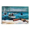 iCanvas Nassau 1899 by Winslow Homer Painting Print on Canvas