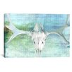 iCanvasArt Canada Moose Skull 5 Graphic Art on Canvas