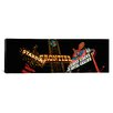 iCanvasArt Panoramic Montage Las Vegas, Nevada Photographic Print on Canvas