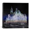 iCanvas Canada Montreal City Hall 4 Photographic Print on Canvas