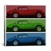 iCanvas Modern Art Vintage Aston Martin Graphic Art on Canvas