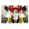 iCanvas Canada Moose Skull 2 Graphic Art on Canvas