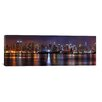 iCanvas Panoramic 'New York Skyline Cityscape (Night)' Photographic Print on Canvas