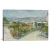 <strong>iCanvasArt</strong> 'Montmartre Behind the Moulin de la Galette' by Vincent van Gogh Painting Print on Canvas