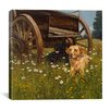 """iCanvasArt """"Rest Awhile"""" Canvas Wall Art by Bill Makinson"""