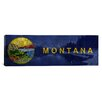 <strong>iCanvasArt</strong> Flags Montana Lake McDonald Panoramic Graphic Art on Canvas