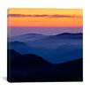 "iCanvasArt ""Rising Mist #2"" Canvas Wall Art by Dan Ballard"