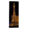 iCanvasArt Panoramic Paris Las Vegas, Nevada, Photographic Print on Canvas