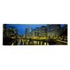 iCanvas Panoramic Chicago River, Chicago, Illinois Photographic Print on Canvas