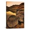 iCanvasArt 'Rockline' by Bob Larson Photographic Print on Canvas
