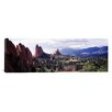 iCanvasArt Panoramic Garden of the Gods, Colorado Springs, Colorado Photographic Print on Canvas