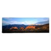iCanvas Panoramic Garden of the Gods, Colorado Springs, Colorado Photographic Print on Canvas
