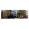 iCanvas Panoramic Row Homes, Philadelphia Photographic Print on Canvas