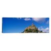 iCanvasArt Panoramic Le Mont Saint Michel, Normandy, France Photographic Print on Canvas