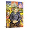 iCanvas 'Portrait of Pere Tanguy' by Vincent van Gogh Painting Print on Canvas