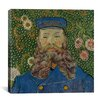 "iCanvas ""Portrait De Joseph Roulin"" Canvas Wall Art by Vincent van Gogh"