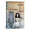 "iCanvas Luz Graphics ""Post No Bills"" Graphic Art on Canvas"