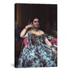 iCanvas 'Portrait of Madame Moitessier' by Jean Auguste Ingres Painting Print on Canvas