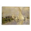 iCanvas Regatta at Argenteuil 1874 by Pierre-Auguste Renoir Painting Print on Canvas