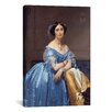 iCanvas 'Princess De Broglie' by Jean-Auguste Ingres Painting Print on Canvas