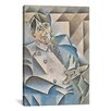 iCanvasArt 'Portrait of Pablo Picasso' by Juan Gris Painting Print on Canvas