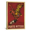 iCanvas Porto Pitters Vintage  Canvas Print Wall Art