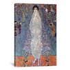 iCanvasArt 'Portrait of Baroness Elisabeth Bachofen' by Gustav Klimt Painting Print on Canvas