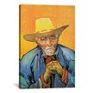 iCanvas 'Portrait of Patience Escalier' by Vincent van Gogh Painting Print on Canvas