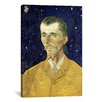 iCanvas 'Portrait of Eugene Boch' by Vincent van Gogh Painting Print on Canvas