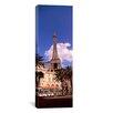 iCanvas Panoramic 'Replica Eiffel Tower, Las Vegas, Nevada' Photographic Print on Canvas