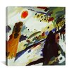 "<strong>iCanvasArt</strong> ""Romantic Landscape"" Canvas Wall Art by Wassily Kandinsky"