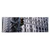 <strong>iCanvasArt</strong> Panoramic Wall Street, New York City Photographic Print on Canvas