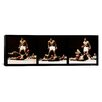 iCanvas Muhammad Ali Vs. Sonny Liston, 1965 Photographic Print on Canvas in Black