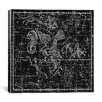 iCanvas Celestial Atlas - Plate 10 (Aquila and Antinous) by Alexander Jamieson Photographic Print on Canvas in Black