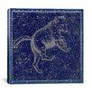 iCanvas Celestial Atlas - Plate 6 (Ursa Major) by Alexander Jamieson Graphic Art on Canvas in Blue
