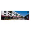 iCanvas Panoramic Miami Skyline Cityscape (South Beach) Photographic Print on Canvas in Day
