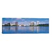 iCanvasArt Panoramic Oakland Skyline Cityscape Photographic Print on Canvas in Multi-color