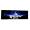 iCanvas Panoramic California State Capitol Building, Sacramento, California Photographic Print on Canvas