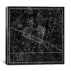 iCanvas Celestial Atlas - Plate 13 (Aries, Musca Borealis) by Alexander Jamieson Graphic Art on Canvas in Black