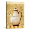 iCanvas Decorative Art 'White Teapod' by Pablo Esteban Painting Print on Canvas