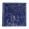 iCanvas Celestial Atlas - Plate 20 (Sagittarius) by Alexander Jamieson Graphic Art on Canvas in Negative