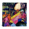 "iCanvas ""White SoundI"" Canvas Wall Art by Wassily Kandinsky"