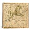 iCanvas Celestial Atlas - Plate 17 (Leo) by Alexander Jamieson Graphic Art on Canvas in Beige