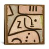 "<strong>iCanvasArt</strong> ""Wi (in Memoriam)"" Canvas Wall Art by Paul Klee"
