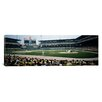 <strong>iCanvasArt</strong> Panoramic Spectators Watching a Baseball Match in a Stadium, U.S. Cellular Field, Chicago, Cook County, Illinois Photographic Print on Canvas