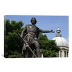 <strong>iCanvasArt</strong> Political 'William Wallace Statue' Photographic Print on Canvas