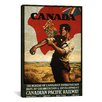 iCanvasArt 'The Bureau of Canadian Information' Vintage Advertisement on Canvas